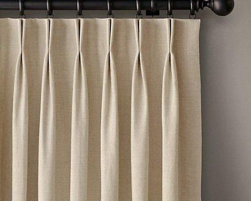 Eyelet with Pinch Pleat curtains in Dubai