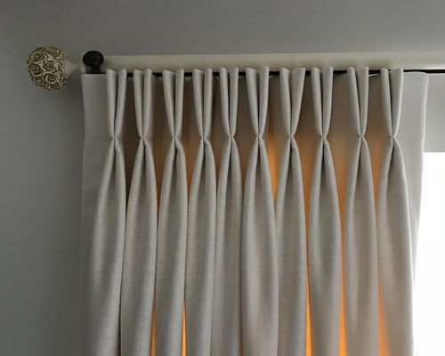 Readymade Double pinch pleat Curtains