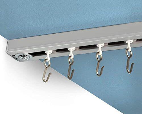 Curtains rail