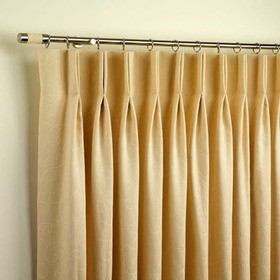 Double Pinch Pleat curtains Dubai