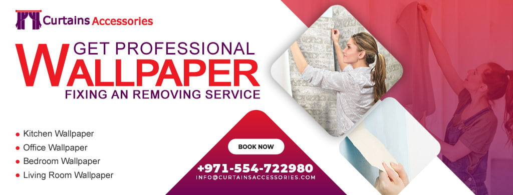 wallpaper-fixing services in UAE